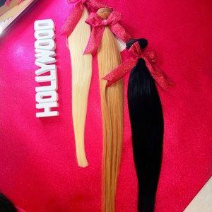 100% human hair extensions LA's best selling hair